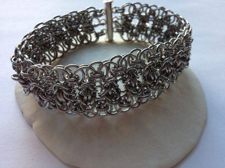 Byzantine cuff bangle