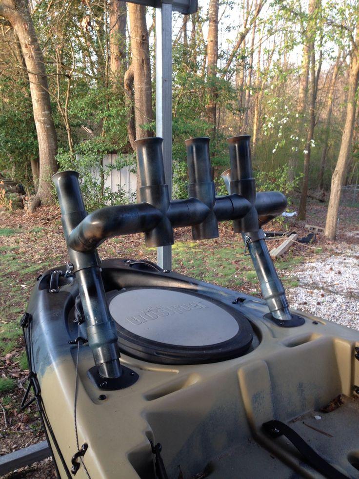 DIY Kayak Rod Holder 2