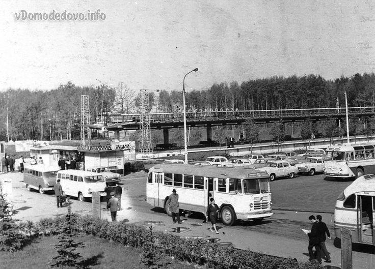 Воздушный парад в Домодедово 9 июля 1967 года.