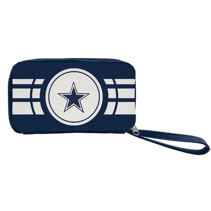 NFL Dallas Cowboys Zip Wallet, Women's