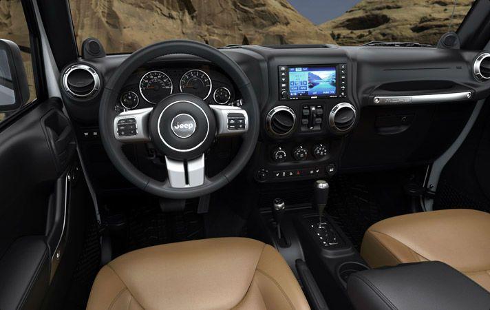 2013 Jeep Wrangler Interior