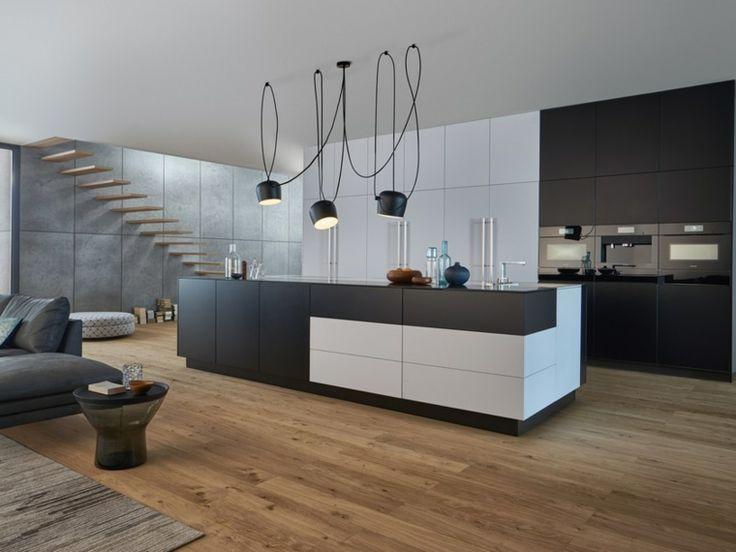 396 best cucine images on pinterest for Cucine moderne nere