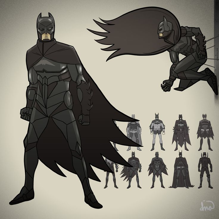 Batman (Character Re-Design Part 2) By Illuskrate