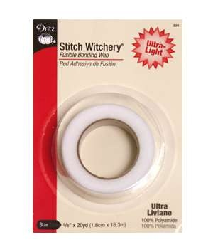 Dritz Stitch Witchery - Fusible Bonding - for those of us who can't sew worth a damn!