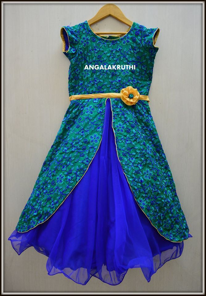 Kids_custom_designs_Angalakruthi _Kids frock floral designs