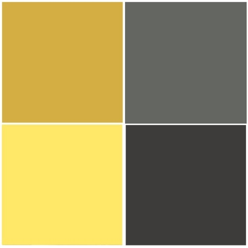 Love yellow and grey combo   Color Palettes   Pinterest   Exercise rooms, Gray playroom and ...