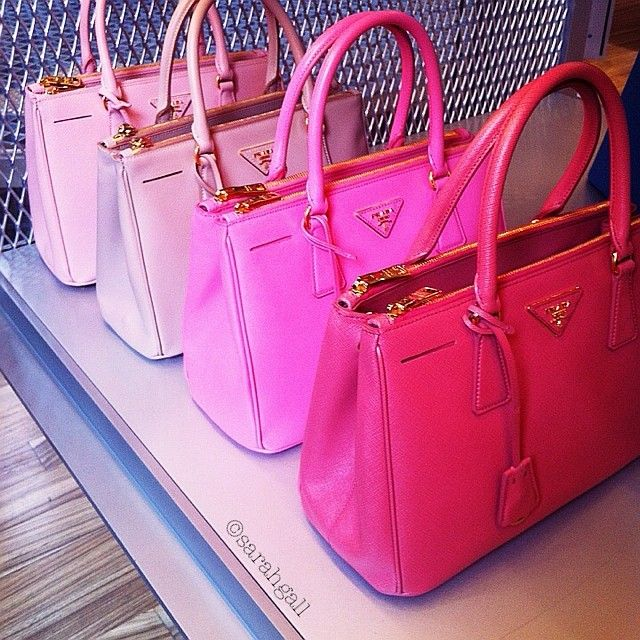 Pink handbags (I'll take all of them)