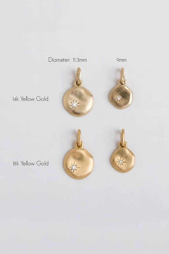 269 best pendants necklaces medallions charms images on large emerald pendant gold necklace 14k yellow gold disc necklace tiny emerald charm pendant rose gold 18k green gemstone birthstone mozeypictures Images
