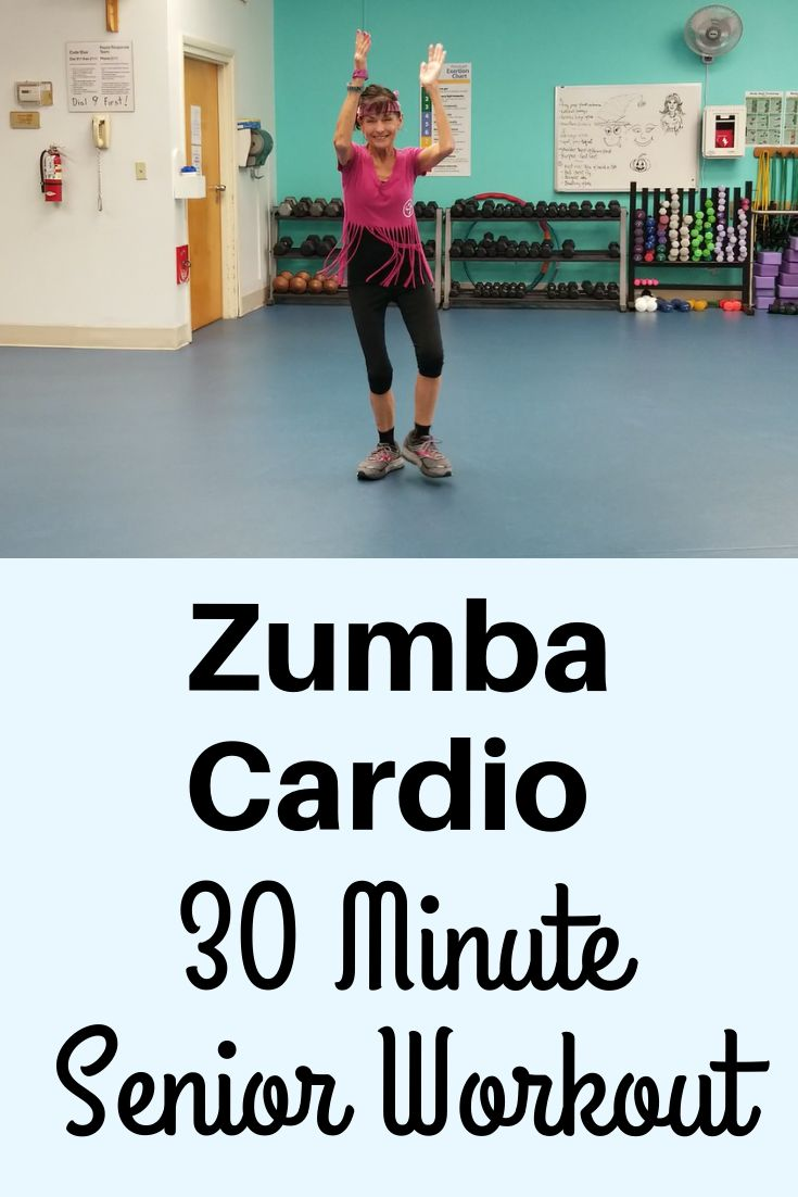 30 Minute Senior Zumba Cardio Workout