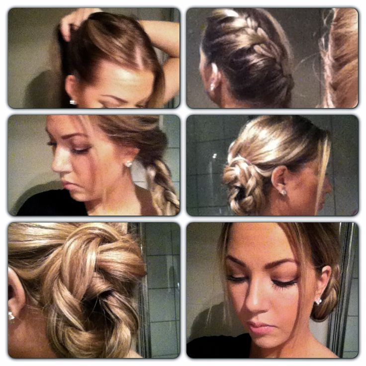 74 best diy images on pinterest hairstylists bricolage and do it yourself how to simple updo braid romantic solutioingenieria Choice Image