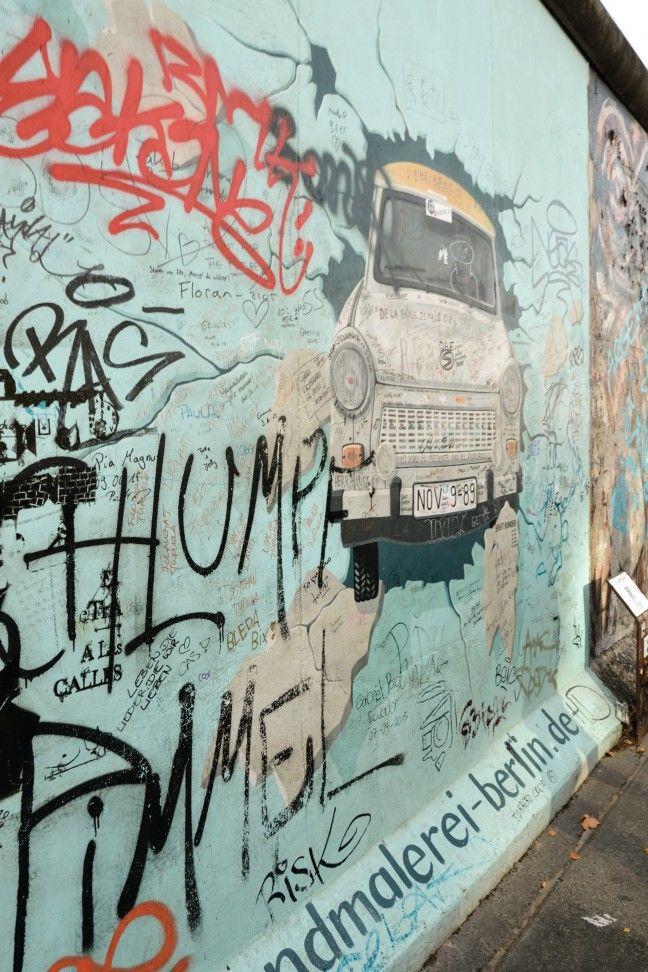 De East Side Gallery Een Kleurrijk Vredesmonument Wattedoeninberlijn Nl Berlijn Muur Berlijn Kleurrijk