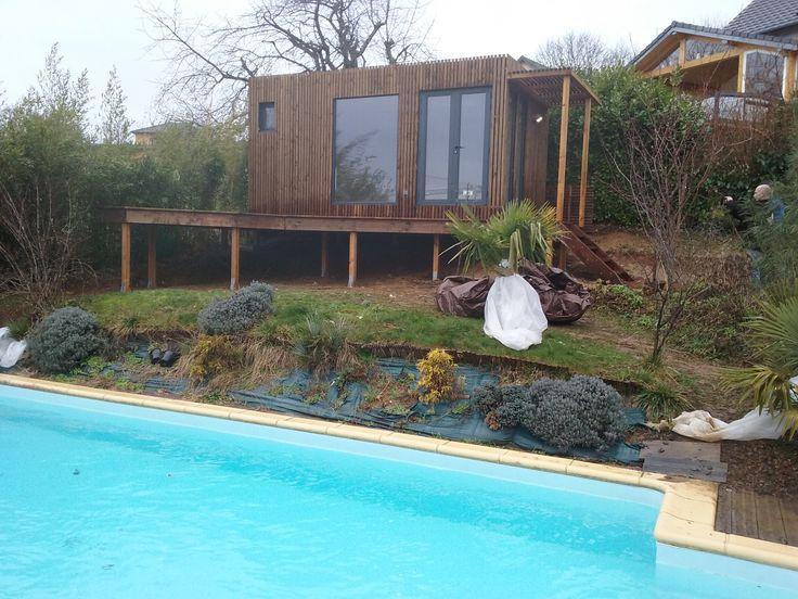 Une nouvelle installation studio de jardin 20m dans le doubs 25 pool house r alisations for Installer une serre de jardin
