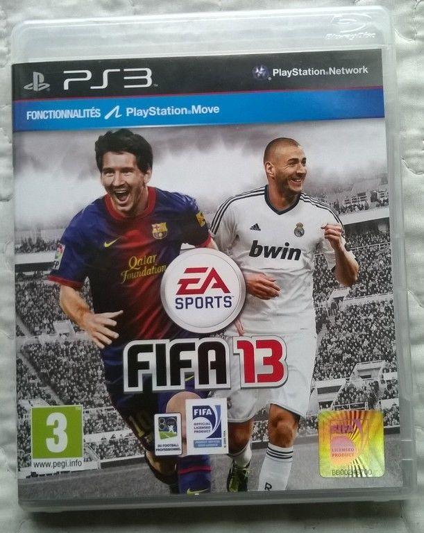 Fifa 13 jeu de football pour Sony Playstation (ps3)