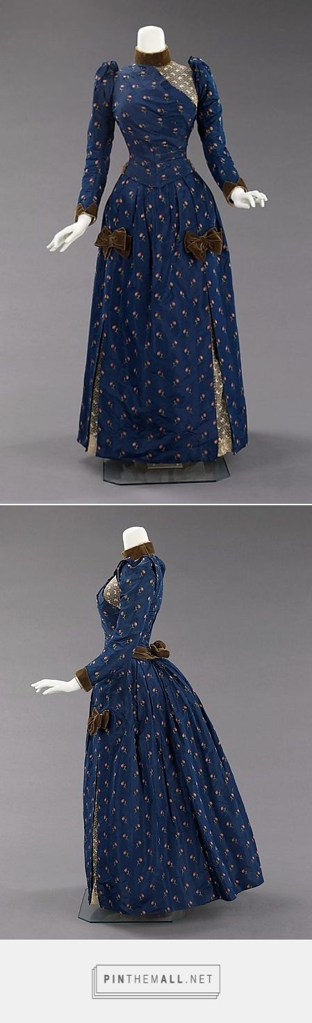 Afternoon dress ca. 1888 American | The Metropolitan Museum of Art