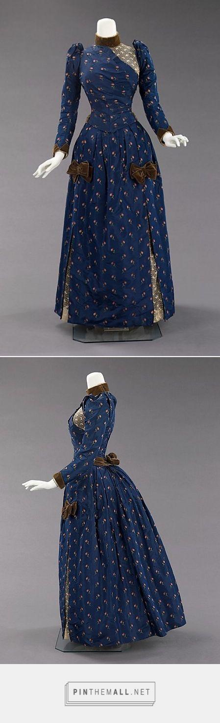 Afternoon dress ca. 1888 American   The Metropolitan Museum of Art