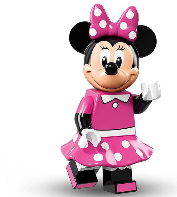 Lego Minifigure Serie Disney, Minnie Mouse