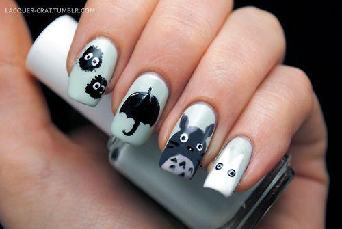 My Neighbor Totoro nails