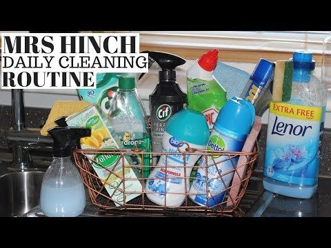 Mrs Hinch Daily Cleaning Routine Morning Evening Youtube
