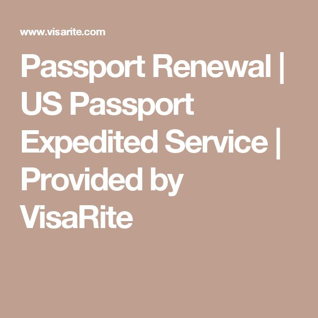 Passport Renewal | US Passport Expedited Service | Provided by VisaRite