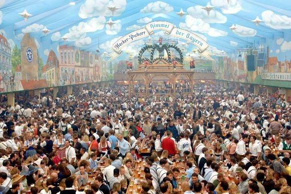 OKTOBERFEST! I'll be mature about it though and won't laugh when I order wiener-schnitzel*.     *No promises