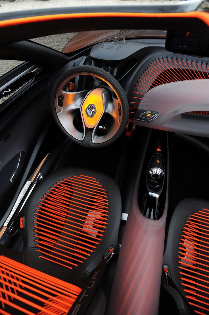 Renault Captur Concept Interior