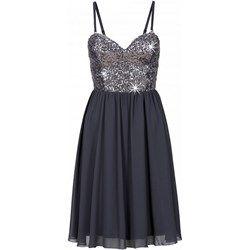 Sukienka szyfonowa z cekinami