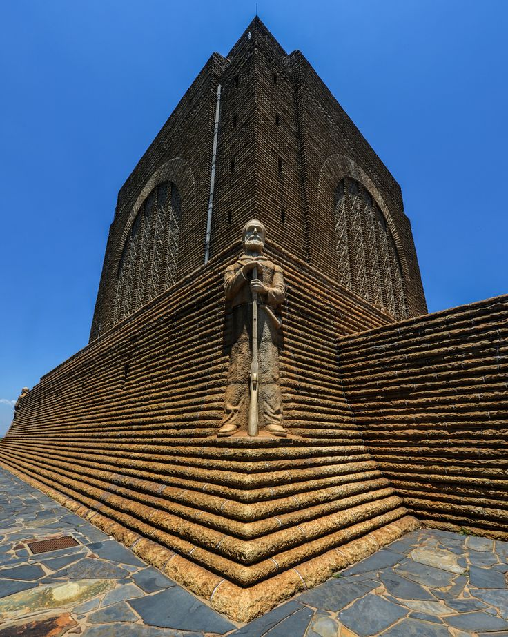 Monument to Piet Retief at Voortrekker Monument, South Africa