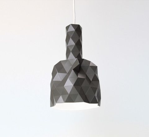 Faceture Pendant / Charcoal from The Minimalist (great store)