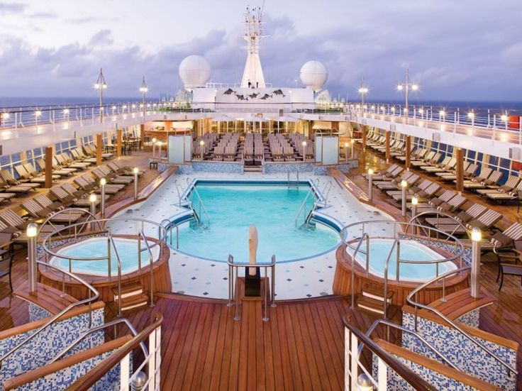 Photos The Top Cruise Ships In World Conde Nast Traveler Pool On