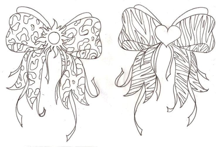 Animal Print Bows Tattoo 3 by ~Metacharis on deviantART