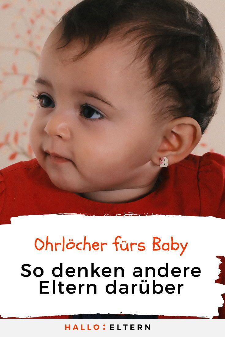 Umfrage Sollten Babys Wirklich Ohrringe Tragen Stimme Jetzt Ab Baby Ohrringe Mama Wissen Wir Bekommen Ein Baby