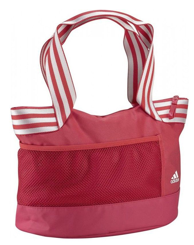 Women's gym bags usually happens in pink color. I share with you beautiful gym bags for women in this photo gallery.
