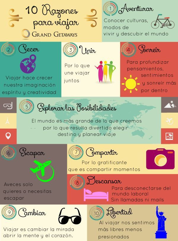 beneficios de viajar - Google Search