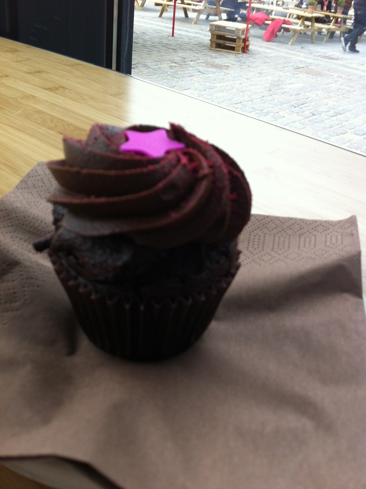 Chocolate/mocca Cupcake from Agnes Cupcakes