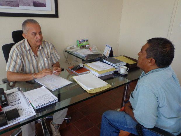 El alcalde Víctor Valencia explicó que se está buscando que el plan de desarrollo municipal esté articulado con el departamental y el nacional. Foto: Suministrada.