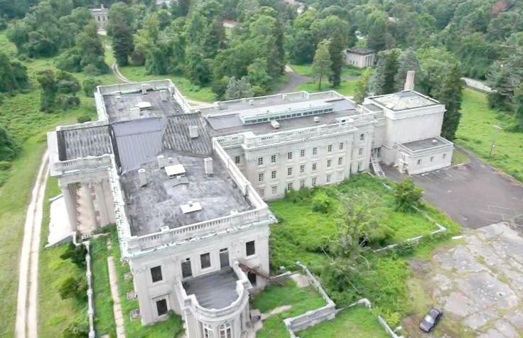 Ariel View Nowish Lynnewood Hall Lynnwood Hall Hall