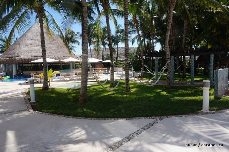 Isla Mujeres Palace, relax in a hammock