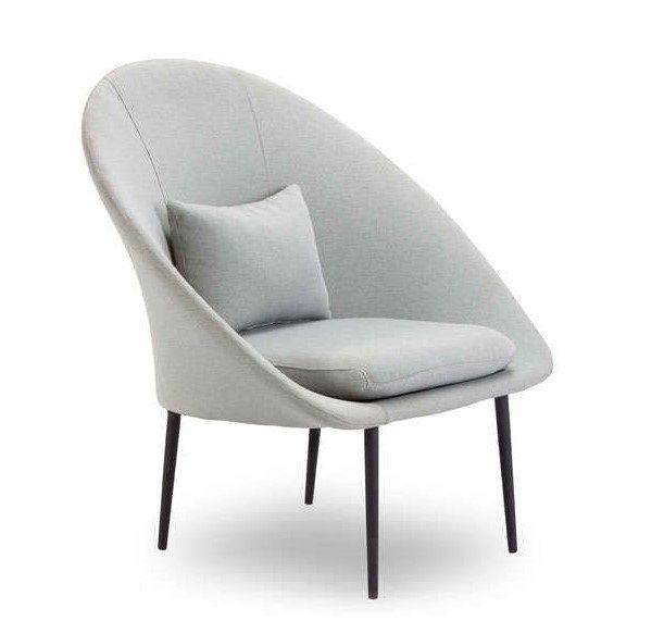 FAUTEUIL design Gris clair FYN AchatDesign prix promo Fauteuil Achat Design 205.00 € TTC au lieu de 299 €
