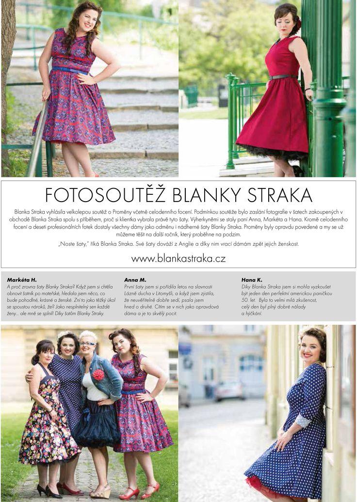 Fotosoutěž s Perfect Woman Fotosoutěž pro dámy, které si pořídily šaty v našem obchodě a článek v časopisu Perfect Woman.