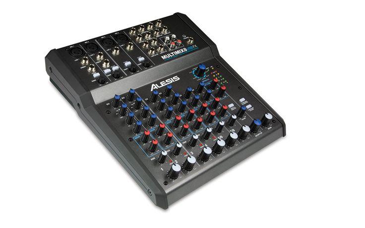 Alesis MultiMix 8 USB FX - Mixer 8 Channel dengan Efek/USB Audio Interface  Merekam, mix dan menambahkan efek di satu wadah  Mixer kompak dengan efek built-in ini dapat berfungsi sebagai interface rekaman berbasis komputer, sehingga anda dapat me-mix, merekam, atau melakukan keduanya pada saat yang bersamaan. MultiMix 8 USB FX mudah digunakan, tangguh dan dikemas dengan banyak fitur sehingga anda dapat me-mixing band atau sub-mixing sekelompok input seperti drumset.