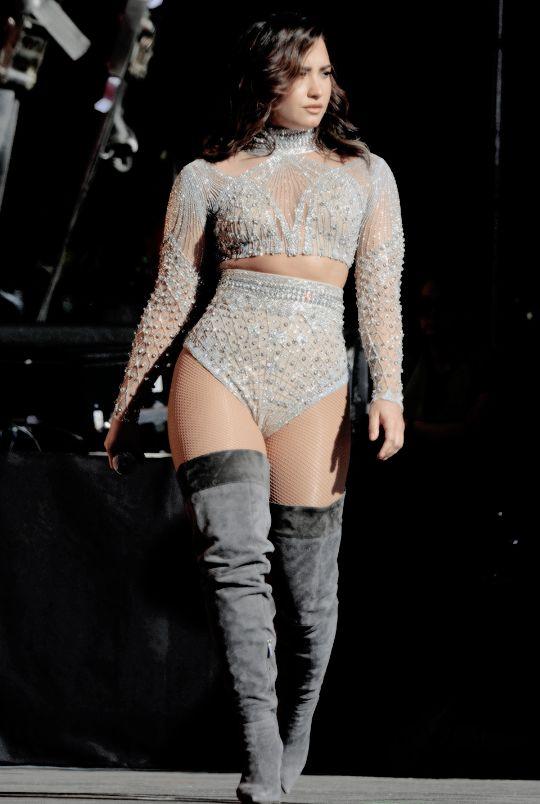 """"""" Demi Lovato performing at the Global Citizens Festival in New York #GCFestival (September 24, 2016) """""""