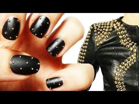 nail art - borchie