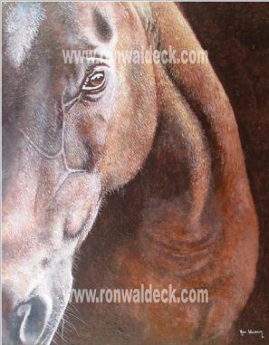 Ron Waldeck, Horse Portrait