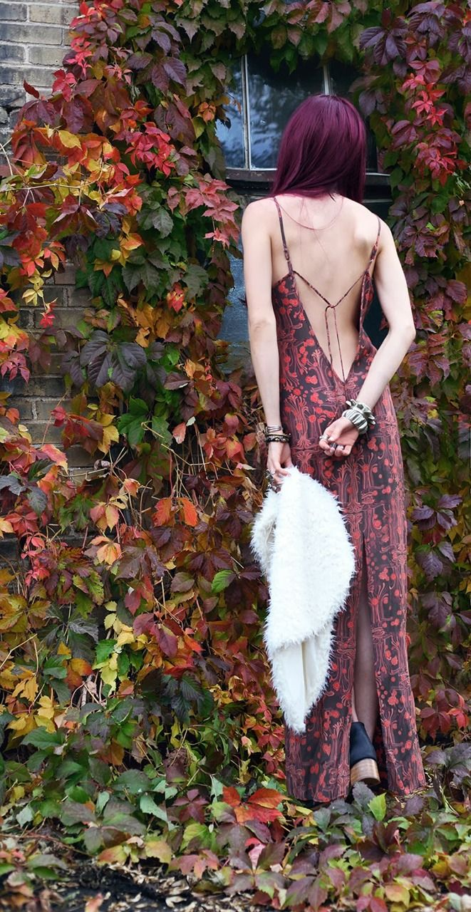The Boho Garden - just the right outfit