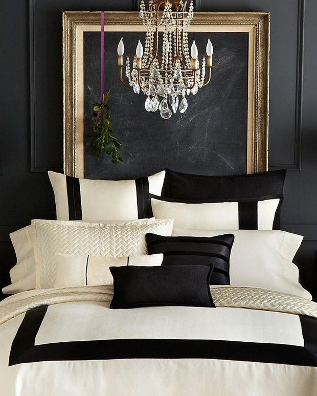17 Best Ideas About Black Gold Bedroom On Pinterest