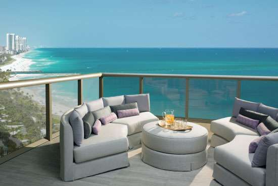 Majestically Modern Miami Hotels  The St Regis Bal Harbour Resort - a view I like