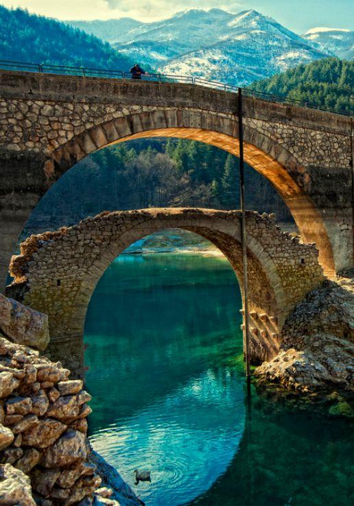 Lago di san Domenico, Italy