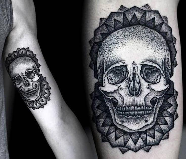 20 Simple Skull Tattoos Flower Ideas And Designs