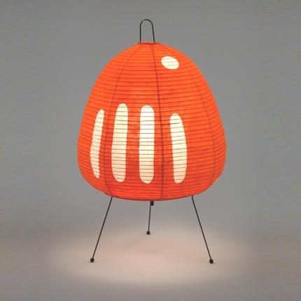 akari lamp by isamu noguchi for vitra