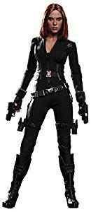Hot Toys are proud to present the Black Widow Sixth Scale Collectible Figure. The movie-accurate collectible is specially crafted based on the image of Scarlett Johansson as Black Widow in the film. Featuring a newly developed head sculpt with straight brownish-red real fabric hair, newly designed costume made with multiple materials, detailed weapons and accessories
